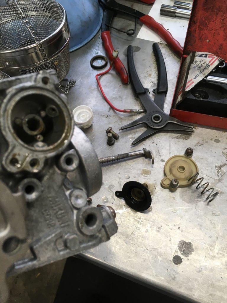 DSC4 キャブレター修理